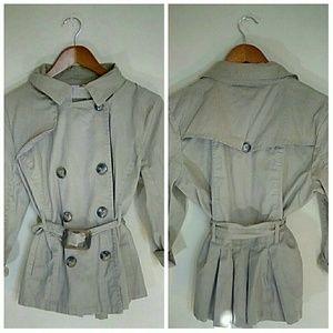 Charming Charlie trench coat style jacket